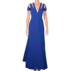 BCBG BLUE FORMAL DRESS